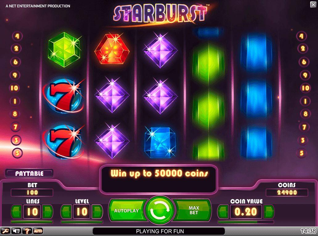 An image of the Starburst Screenshot