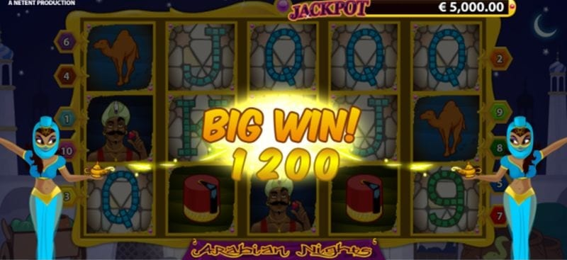 Arabian Nights Big Win (Netent)