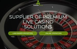 Authentic Gaming offer casino tables in UK