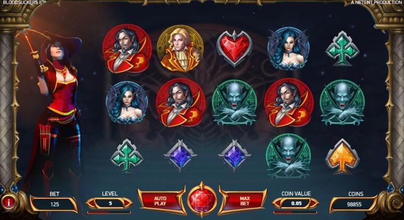 Blood Suckers 2 Netent slot machine