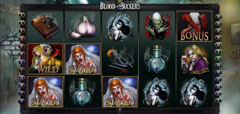 Blood Suckers Free Spins (Netent)