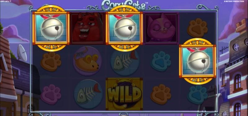 Copy Cats Free Spins (Netent)