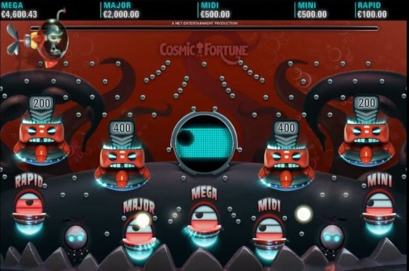 Cosmic Fortune Jackpot Game (Netent)