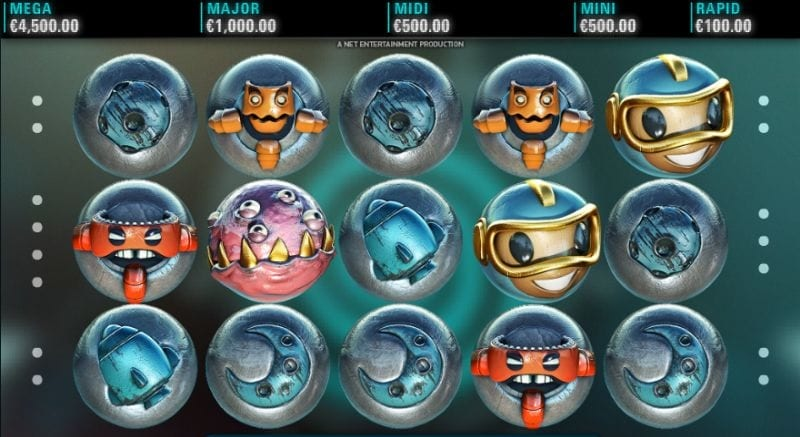 Cosmic Fortune Netent slot machine