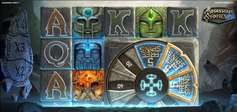 Free Spins Asgardian Stones (Netent)