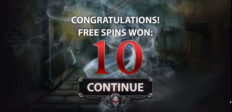 Free Spins Blood Suckers (Netent)