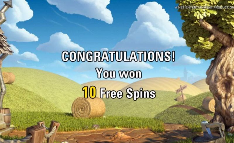 Free Spins Jack and the Beanstalk (Netent)