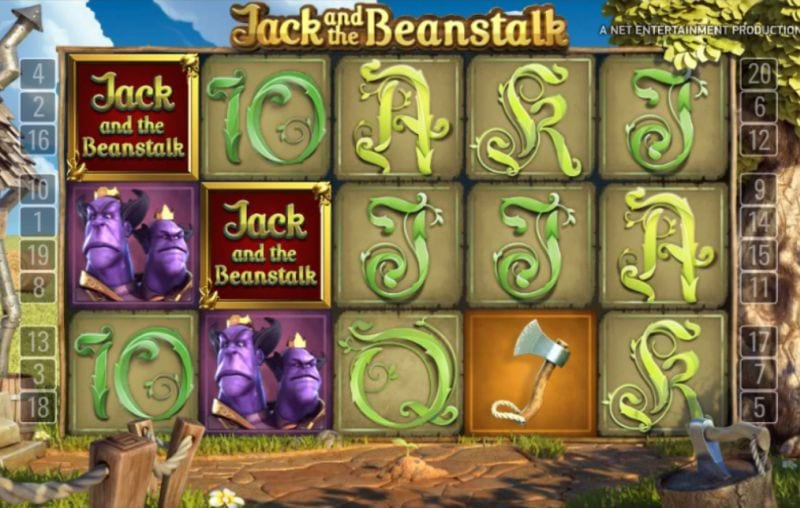 Jack and the Beanstalk special feature (Netent)