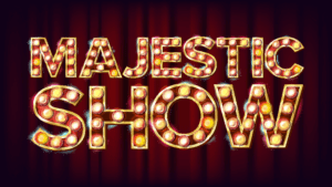 An image of the majestic show banner