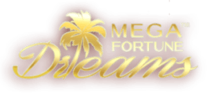 An image of the Mega Fortune Dreams Logo