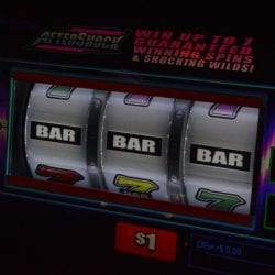 What is the hit frequency of a slot machine ?