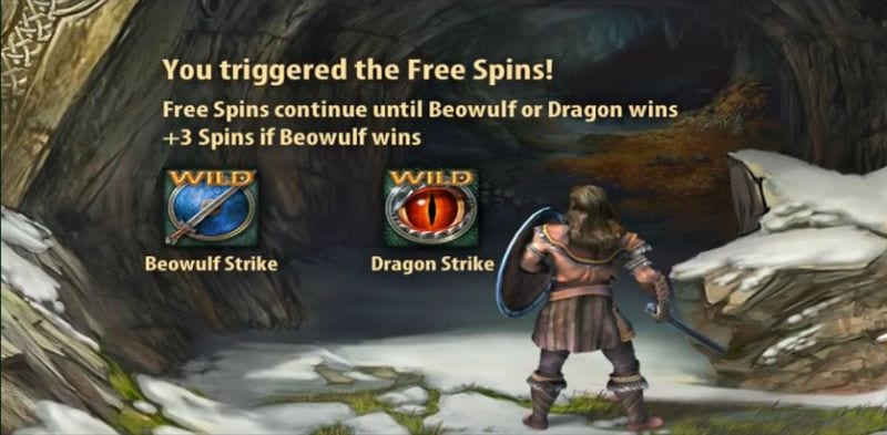 Beowulf Quickspin Free Spins