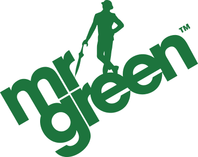 An image of the mr green logo