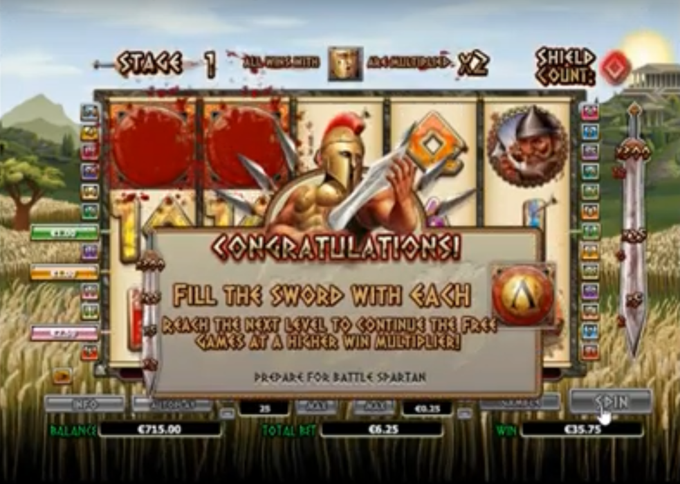 300 Shields Free Spins