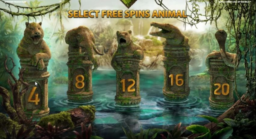 Jungle Spirit Free Spins Feature