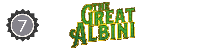 An image of the great albini logo