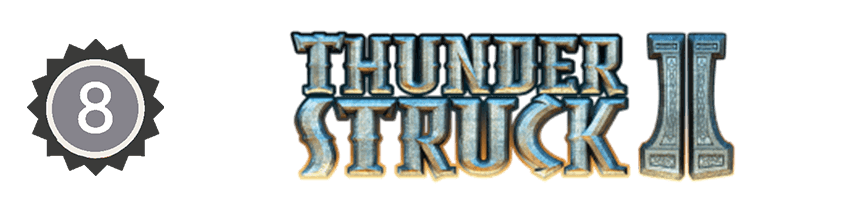 An image of the thunderstruck ii logo
